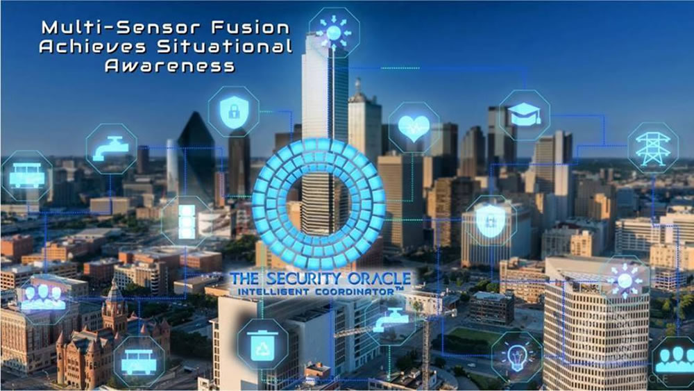 IC multi sensor fusion situational awareness system