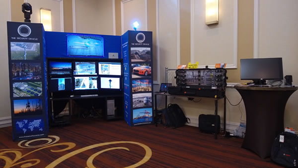 The TSO Exhibit booth at the 6th Annual Power Grid Resilience Conference