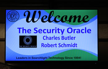 Carlisle Finch Event Welcome screen